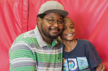 fatherhood programs: Caurice Phillips