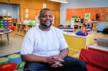 Preschool program parent Rivers Calhoun